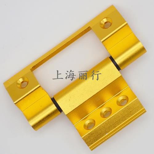 丽行牌新式57A合页类 /隔热断桥三翼平开窗用黑白银..